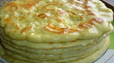 Так делают в Тбилиси: очень вкусные хачапури на сковороде