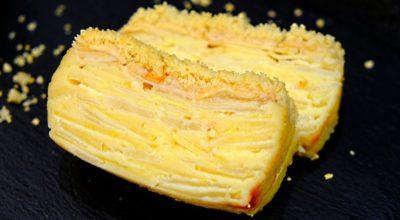 Тесто, которое при выпечке превращается в крем. Пирог «Невидимка» с яблоками и грушами