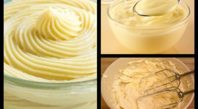 Топ 8-кремов для тортов и десертов