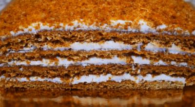 Торт Медовый АНГАРСКИЙ. Простой доступный рецепт