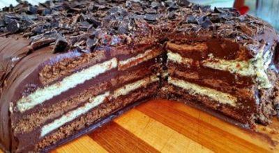 Трюфельный торт без выпечки всего за 15 минут. Вкуснятина на Скорую Руку
