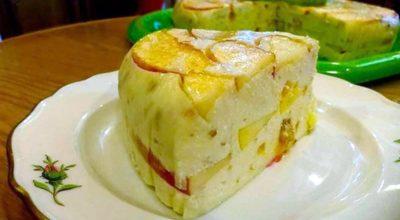 Творожный торт с яблоками без выпечки: вкуснейшее наслаждение к чаю