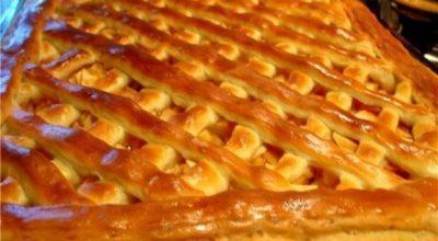 Зимний пирог «С морозца» для всей семьи