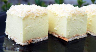 """Зимний торт """"Снежный пух"""": выпечка не потребуется"""