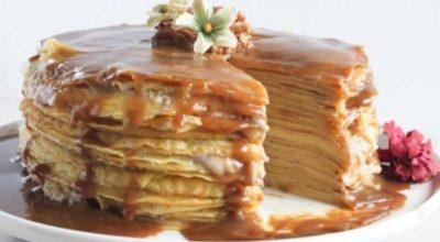 9 изысканных рецептов приготовления торта из блинов в домашних условиях