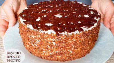 БЕЗ духовки и печенья. ШОКОЛАДНЫЙ торт «Чёрный Принц»
