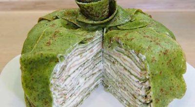 Блинный торт с кремом — 10 пошаговых рецептов