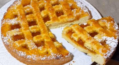 Быстрый и вкусный пирог с вареньем: Изумительное рассыпчатое тесто