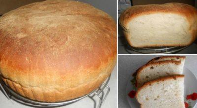Домашний хлеб. Очень вкусный, с хрустящей корочкой