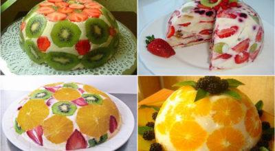 Фруктовые тортики без выпечки. Чудесное наслаждение вкусом