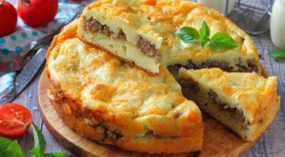 Картофельные пироги с разными начинками: с сыром, фаршем, грибами, курицей