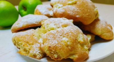 Мягкое яблочное печенье на скорую руку