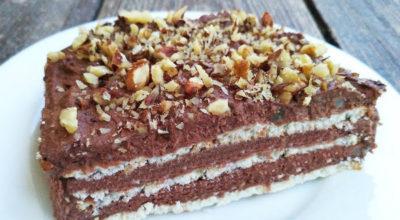 Нереально вкусный шоколадный торт без выпечки
