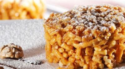 Обалденная восточная сладость — торт «Чак-чак»