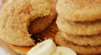 Печенье с бананом и овсяными хлопьями