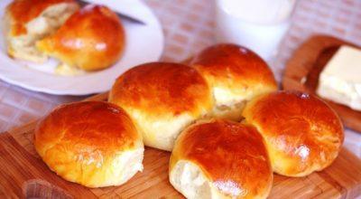 Печём булочки сдобные, сладкие пышные