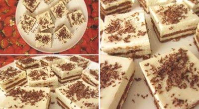 Первоклассный торт за 25 минут без выпечки