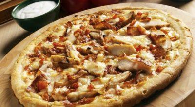 Пицца с курицей — вкуснейшее сочетание
