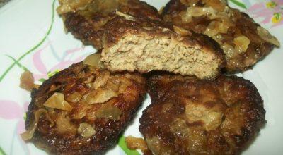 Полезные и вкуснейшие оладьи из говяжьей печени