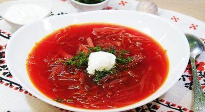 Постный борщ — вкусный классический рецепт