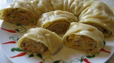 Просто невероятное блюдо ханум