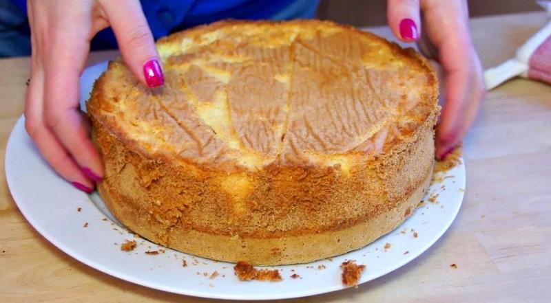 Рецепт базового бисквита для тортов