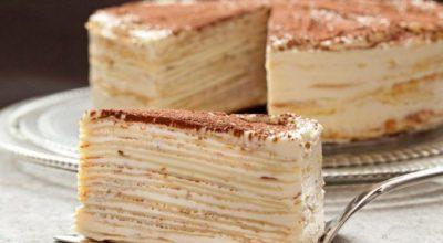 Такого торта вы еще не пробовали. «Крепвиль» — не просто вкусный, а самый вкусный в мире