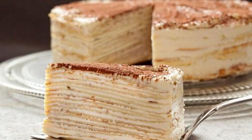 Такого торта вы еще не пробовали! «Крепвиль» — не просто вкусный, а самый вкусный в мире!