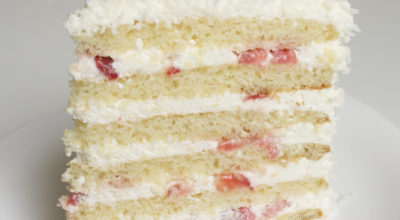 """Торт """"Молочная девочка"""" — воздушные коржи и сливочная начинка за 60 минут"""