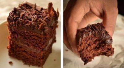 Торт без яиц: супер-влажный шоколадный пирог