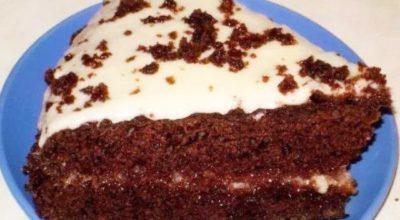 Торт «Черный принц» по-домашнему