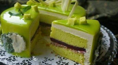 Торт «Мятная свежесть»