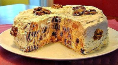 Торт «Трухлявый пень» — невозможно поверить, что такое лакомство готовится дома