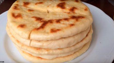 Турецкий хлеб на сковородке: вкусно, сытно и при этом диетично