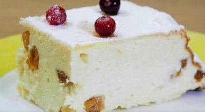 Творожная запеканка — рецепт пышной запеканки в духовке
