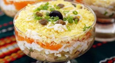 Вкуснейшие салаты из шпрот — готовим дома