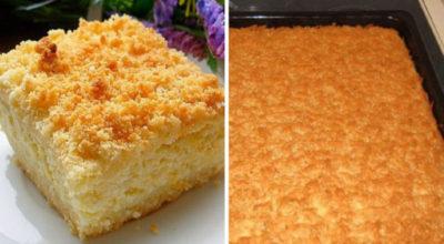 Вкусный и оригинальный тертый пирог с творогом – новый рецепт любимого блюда