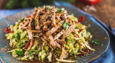 Восхитительные мясные салаты — 6 лучших рецептов