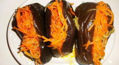 Баклажаны с морковью. Кого ни угощаю, все просят рецепт