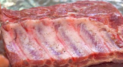 Шикарное мясо, запеченное в духовке