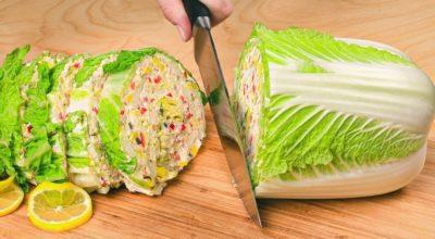 Гениальные салаты из пекинской капусты