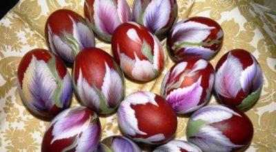 Необычные и оригинальные способы покраски яиц к Пасхе