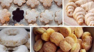 Песочное домашнее печенье на смальце