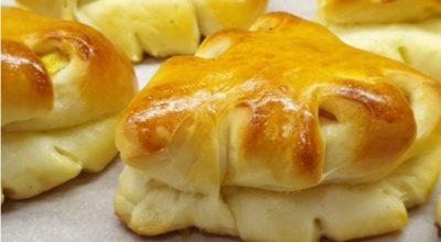 Пирожки в духовке с яблоками