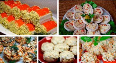 Подборка оригинальных и вкусных закусок на праздничный стол