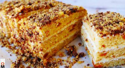 Простой торт к чаю «Любимчик»