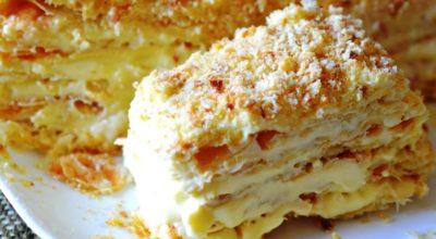 Рецепт нежнейшего торта без выпечки