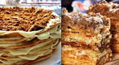 Рецепт оригинального торта «Наполеон»