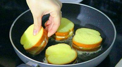 Рецепт оригинальных бутербродов