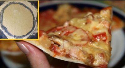 Рецепт ресторанной пиццы